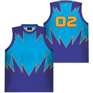 Buy cheap Джерси подгонял трикотажные изделия баскетбола детей рубашки Бреатабле сублимированные from wholesalers