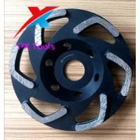 Buy cheap 125mm diamond grinding wheels for polishing marble,granite and concrete and get high gross degree product