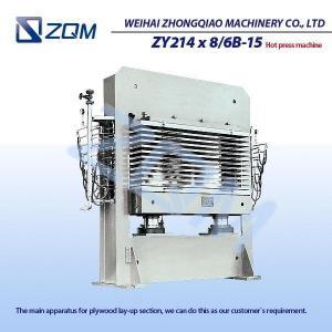 máquina Madera-caliente de la prensa