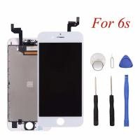 Buy cheap White Iphone LCD Touch Screen ,1334x750P Iphone 6S LCD Touch Screen from wholesalers