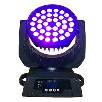 Buy cheap 36x18w RGBWAUV 6in1 LED Moving Head Wash Zoom Night Club Stage Lighting product