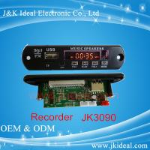 Buy cheap JK3090 Audio mixer amplifier usb sd fm  recorder  MP3 module product