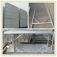 Quality Italian type vertical frame 2m *1.05m hot dip galvanized for sale