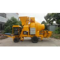China Professional Generator Trailer Concrete Pump With Mixer 50kw 4000Kg Weight on sale