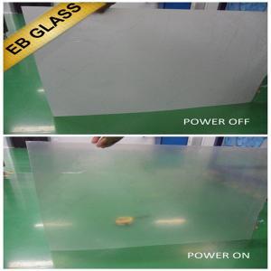 Buy cheap Smart pdlc film, eb glass brand, smart glass, intelligent glass film, magic glass product