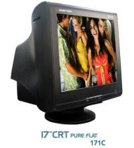 China CRT Monitor - Pure Flat on sale