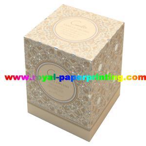 Buy cheap impression de papier de boîte-cadeau couvercle et de cosmétique/bijoux colorés de base product