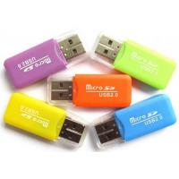 Buy cheap Bulk Promotion Portable Card Reader USB 2.0 3.0 Plastic Material For Smartphone product