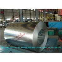 ASTM A653 JIS 3302 EN10143 Hot Dip Galvanized Steel Coil with 508mm Coil ID for Roof / Outer Wall