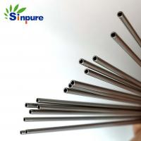 China Sinpure Customized smooth rounded end SUS304 capillary tube use to medical needle on sale