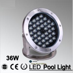 Buy cheap IP68 LED fountain light ,36Wpool light ,IP68 underwater light, piscina light for swimming pool36W 24V AC LPL-A-36W-24VAC product