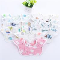 China Reusable Baby Girl Dribble Bibs / Washable Durable Muslin Baby Clothes on sale