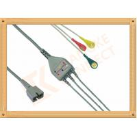 Ecg Patient MEK Cable 9 Pin One Piece 3 Leads for MEK MP1000  MP600  MP500