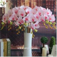 Buy cheap UVG China supplier make artificial flower arrangements in silk orchid flowers for sale product