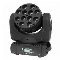 Buy cheap Wedding Concert Narrow Beam Angle 12x12w RGBW 4in1 Cree LED Moving Head Beam product