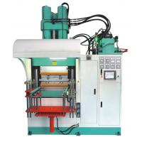 Buy cheap Mechanical Vertical Rubber Injection Molding Machine With High Torque Hydraulic Motors product