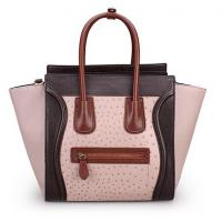 Buy cheap Crocodile embossed leather Crossbody Bag Handbag leather bat bags,ce line style totes product