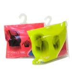 Buy cheap Sock / Underwear Plastic Hanger Bags Slider Zip Lock Custom With Hook Hanger product