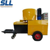 Buy cheap High Efficiency Wall Cement Plaster Machine 380V / 7.5kW 12 Months Guarantee from wholesalers