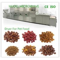 Buy cheap Tunnel Microwave Drying Machine Sterilizing Equipment For Nuts / Pet Food / Meat product