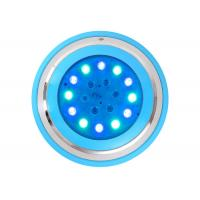 Buy cheap RGB Underwater Led Lights Wall Mounted Surface Installation 54W 18W Fiber Optic Pool Lighting product