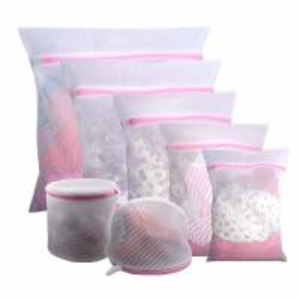 Set of 5 Mesh Laundry Bags-1 Extra Large, 2 Large & 2 Medium Bags Laundry,Blouse, Underwear, Travel Laundry Bag