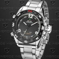 Buy cheap Dual Time Weide Digital Sports Watch Analog Display , Men S Watches product