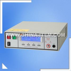 Buy cheap Probador del alto voltaje del probador del Hola-pote del probador CX-7120 AC/DC del voltaje de Withstand de la CA 5KV DC 6KV product