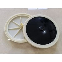 Buy cheap White Frame Plate Type 1mm 2mm Bubble Air Diffuser For Water Treatment from wholesalers