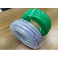 China Multipurpose PVC Braided Hose Transparent 1 Inch Water Hose 2mm - 8mm Thickness on sale