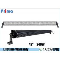 Buy cheap Double Row Combo 42 Inch LED Car Light Bar High Bright 240W DC 9V - 32V product
