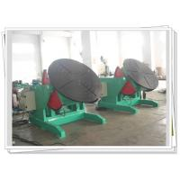 Buy cheap 1200kg Rotary Welding Turning Table Pipe Elbow Welding Foot Pedal Control product