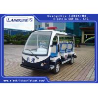 Buy cheap Customized Design Electric Police Patrol Car , Golf Electric Cart Four Wheel product