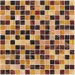 Buy cheap линия стеклянная плитка золота 20С20мм мозаики квадрата картины смешивания мозаики product