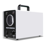 clean Air Ozone Generator Corona Discharge Ozone Machine For Odor Removal white