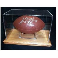 Buy cheap fashion leather medal display box,acrylic display box with lock,football case product