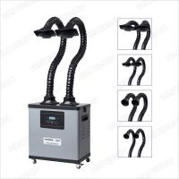 Buy cheap Digital Display Grey Soldering And Mobile Welding Fume Extractor With Three Layers Filter product