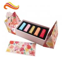 China Paperboard Lipstick Skin Care Box Packaging , Eco Friendly Cosmetic Packaging on sale