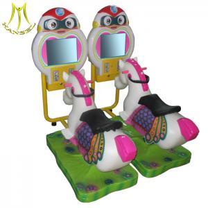 China Hansel amusement park children electronic games video horse rides on sale