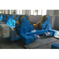 Quality Automatic Welding Turning Roll / Pipe Rollers PU Wheel For Vessel for sale