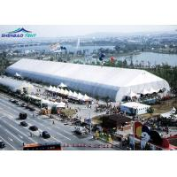 Buy cheap Movable PVC Aluminum Expo TFS Curved Tent 40m Clear Span for Large Outdoor from wholesalers