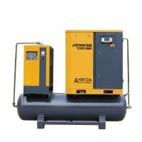 Buy cheap Airhorse EPM-10A permanent magnetic motor pm vsd screw compressor with air dryer tank product