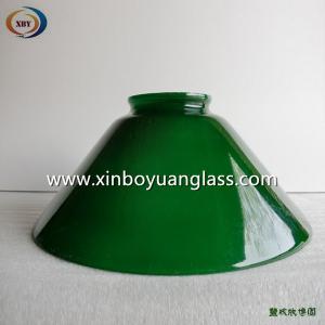 Buy cheap Зеленым крышка сформированная колоколом стеклянная привесная светлая product