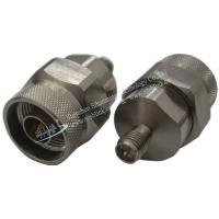 Buy cheap high quality Stainless steel N Type Male Plug to RP SMA Female Plug Coaxial Adapter,Fast Shipping product