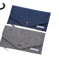 Buy cheap Premium Nylon Material Credit Card Organizer Wallet With Snap Button product