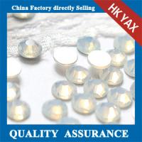 Buy cheap White clear non hotfix crystal,non hotfix crystal china supplier,high quality non hotfix crystal product