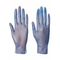 Buy cheap Anti Allergic Disposable Medical Gloves , Powdered Disposable Vinyl Gloves Large product
