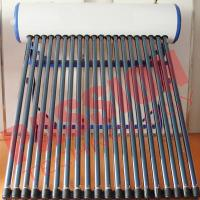Buy cheap Customized Color Heat Pipe Solar Water Heater Rooftop High Efficiency product
