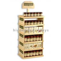 Buy cheap Pharmacy Wooden Store Fixtures Movable Flooring Environmental from wholesalers