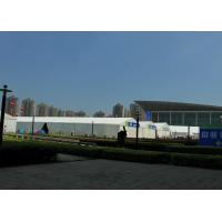 Spacious Trade Fair Tents 1500 Person Capacity Unit Combined Structure